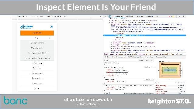 Inspect Element Is Your Friend
