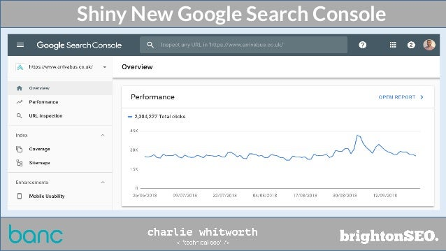 Shiny New Google Search Console