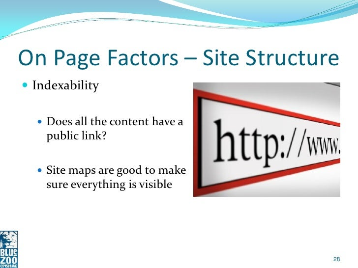 SEO Basics Seminar Deck slideshare - 웹