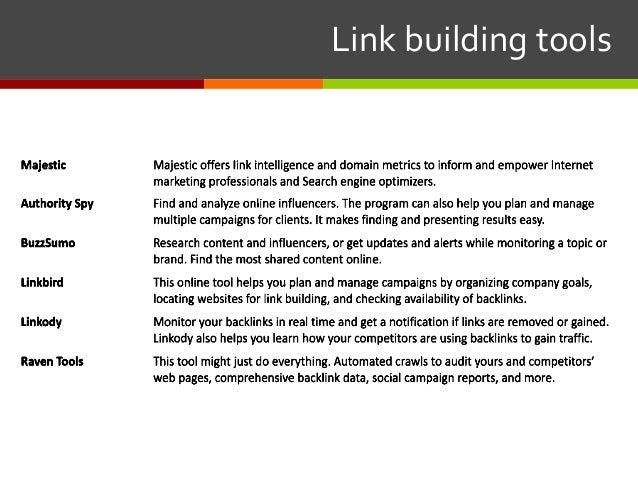 Linkbuildingtools