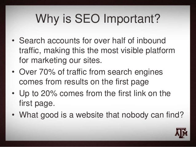 Making Your Website Search Friendly Slide 3