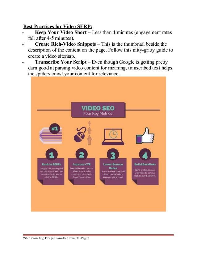 Seo benefits of video marketing Slide 3