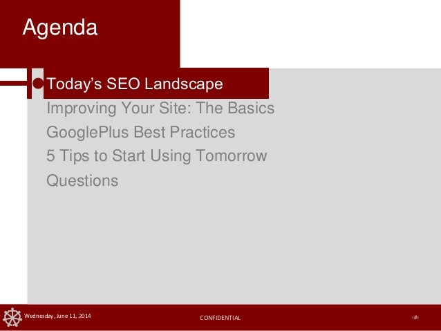 SEO Best Practices to Maximize your Google Ranking Slide 3