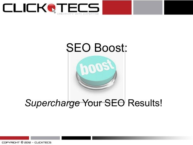 SEO Boost: Supercharge Your SEO Results!