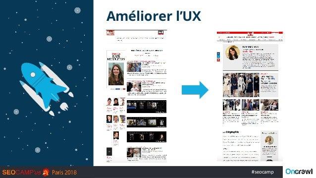 #seocamp Améliorer l'UX