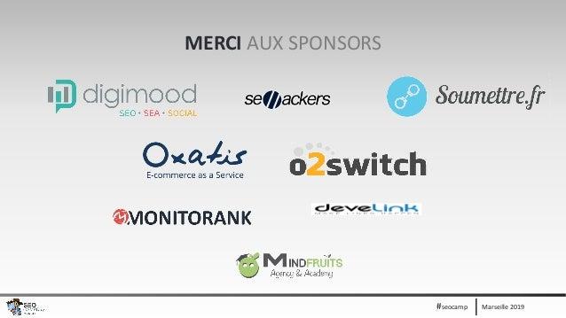 Marseille 2019#seocamp MERCI AUX SPONSORS