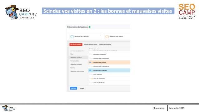 Marseille 2019#seocamp Scindez vos visites en 2 : les bonnes et mauvaises visites