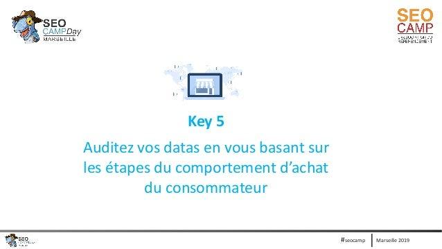 Marseille 2019#seocamp Key 5 Auditez vos datas en vous basant sur les étapes du comportement d'achat du consommateur