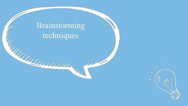 #SEOCAMP @lauracrimmons Brainstorming techniques