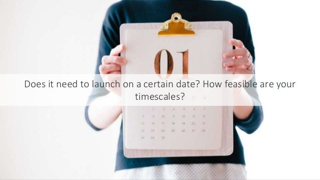 #SEOCAMP @lauracrimmons Does it need to launch on a certain date? How feasible are your timescales?