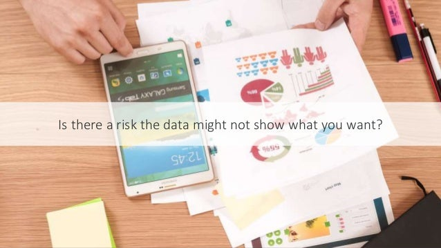 #SEOCAMP @lauracrimmons Is there a risk the data might not show what you want?