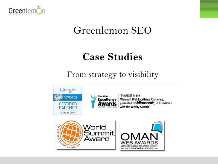 Greenlemon SEO Case Studies From strategy to visibility