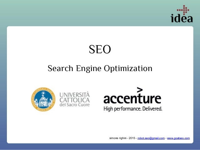 SEO Search Engine Optimization simone righini - 2015 - robot.seo@gmail.com - www.goatseo.com