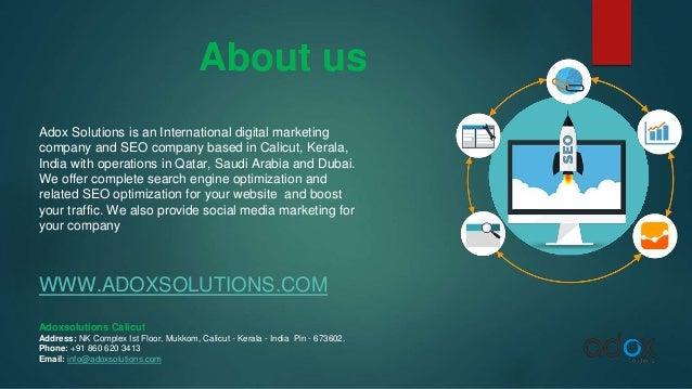 Seo companies in kerala