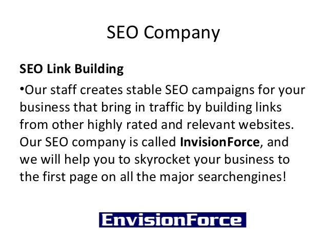 SEO CompanySEO Link Building•Our staff creates stable SEO campaigns for yourbusiness that bring in traffic by building lin...