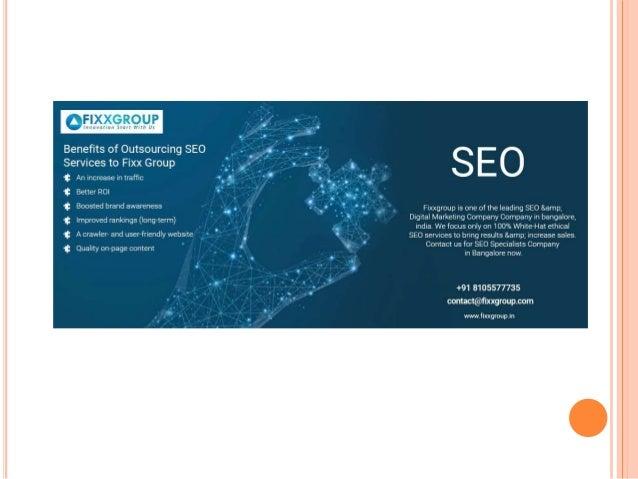Seo company in bangalore Slide 2