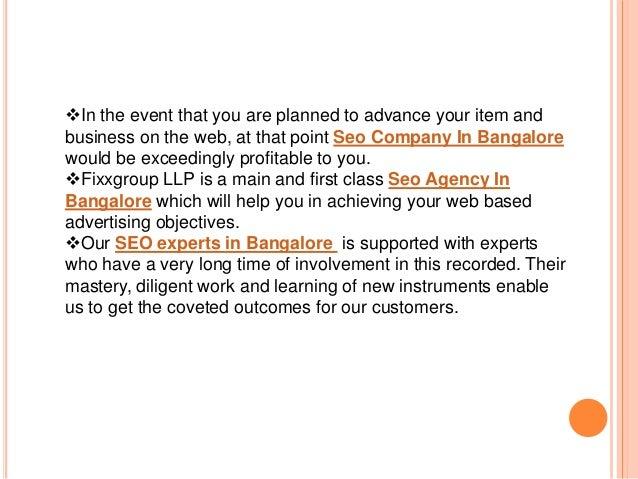 Seo company in bangalore Slide 3