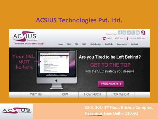 ACSIUS Technologies Pvt. Ltd.