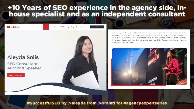 Successful SEO Consulting for @Hubspot #AgencyExpertSeries Webinar Slide 3