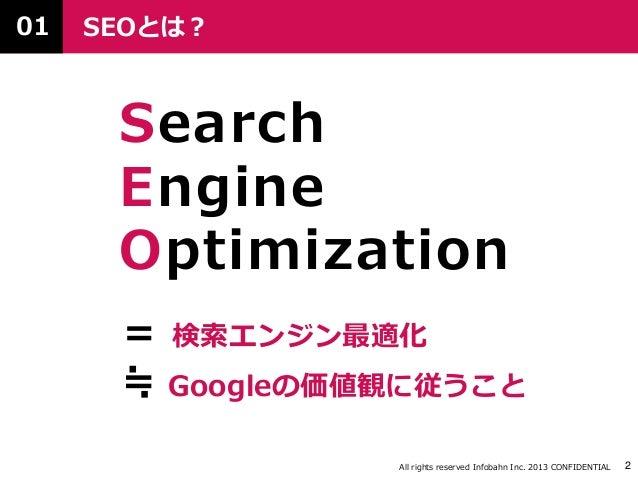 SEOに効くコンテンツの作り方 ver1.1 Slide 3