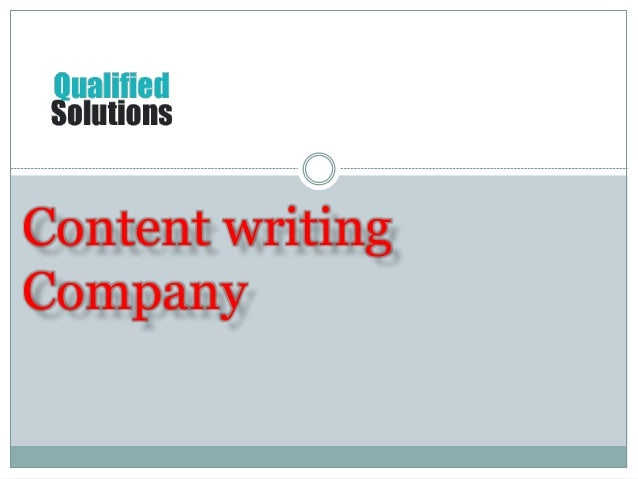 Content writing company us