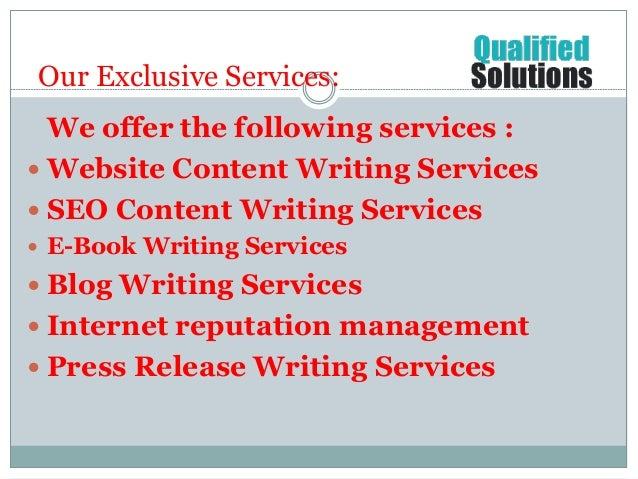 Seo writing websites