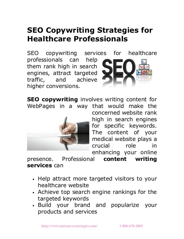 SEO Copywriting Strategies for Healthcare Professionals SEO copywriting services for healthcare professionals can help the...