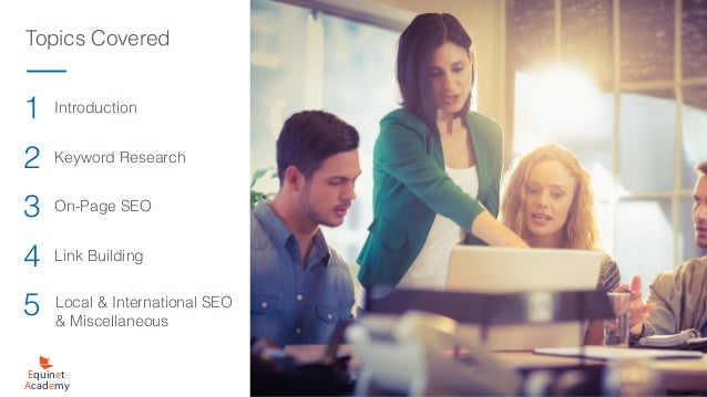 Seo Course Textbook Preview - Equinet Academy Slide 2