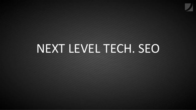 Next Level Tech SEO | Dominik Wojcik | SEO Day 2017 Slide 2