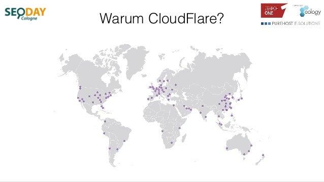 Warum CloudFlare?