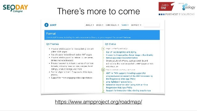 There's more to come https://www.ampproject.org/roadmap/