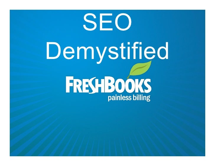 SEO Demystified