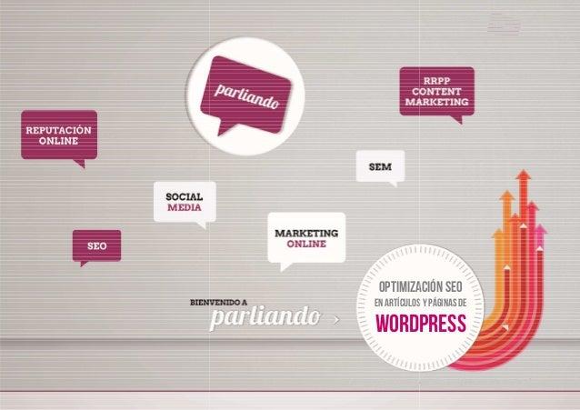 Optimización SEO para art Optimización SEO En artículos y páginas de WORDPRESS artículos y páginas en Wordpress - 1 Optimi...