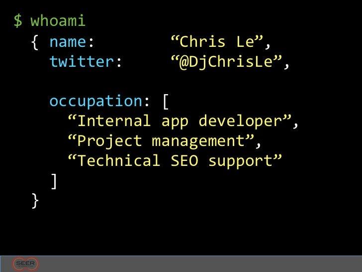 SEO for Developers Slide 2
