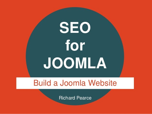 Richard PearceSEOforJOOMLABuild a Joomla Website