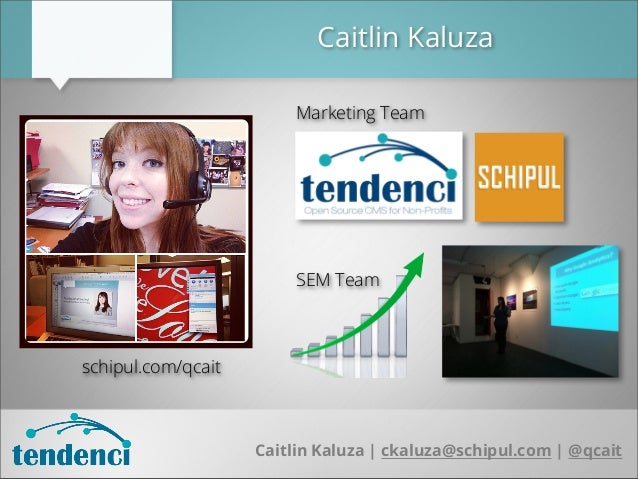 Optimizing Your Tendenci Site for SEO (Search Engine Optimization) Slide 2