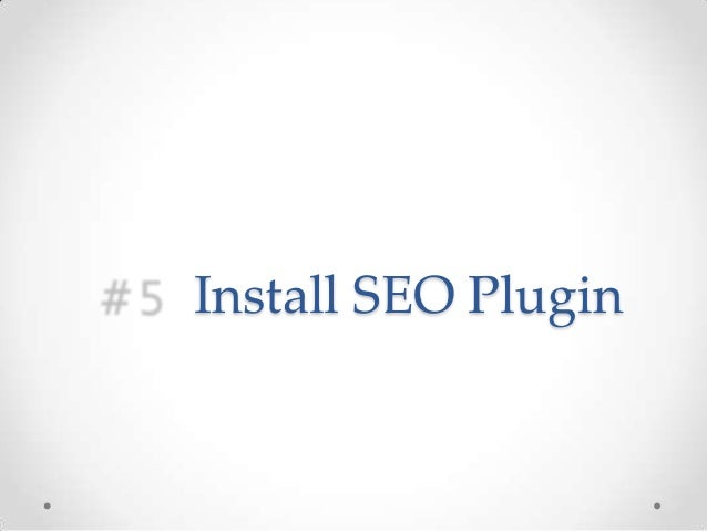 SEO for WordPress in 10 Simple Steps - 웹
