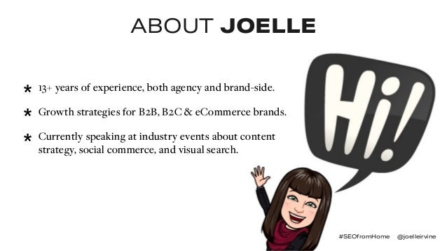 Enhance Shopping Experiences via Image Optimization   #SEOFromHome Slide 2