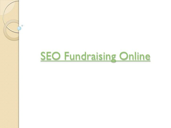 SEO Fundraising Online