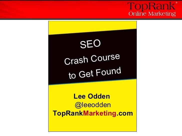#2 IMU: SEO Crash Course to Get Found (GF102) Slide 2