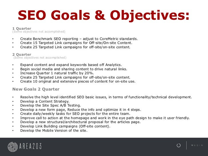 Examples Of Goals And Objectives For Work Roho4senses