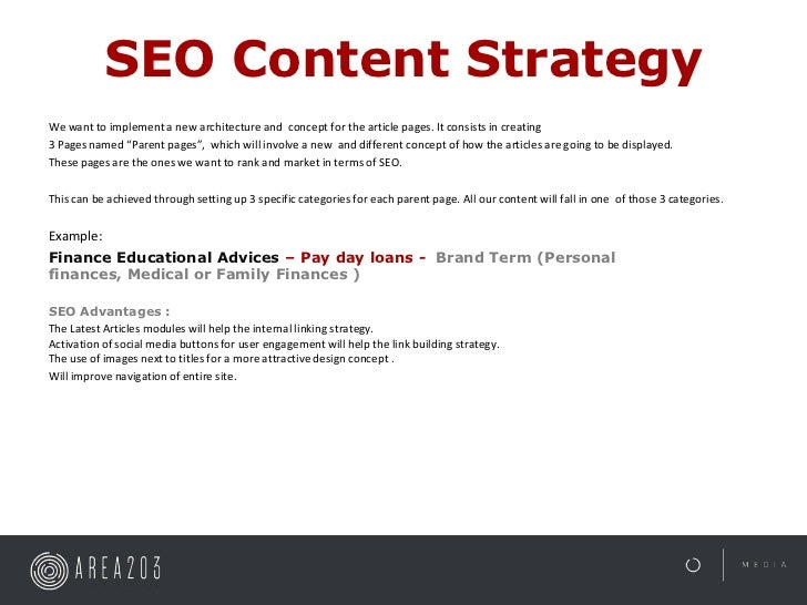 SEO Content StrategyWe want to implement a new architecture and concept for the article pages. It consists in creating3 Pa...