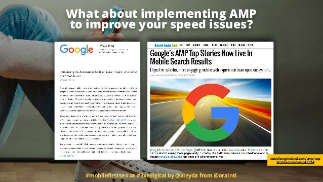 What about implementing AMP 