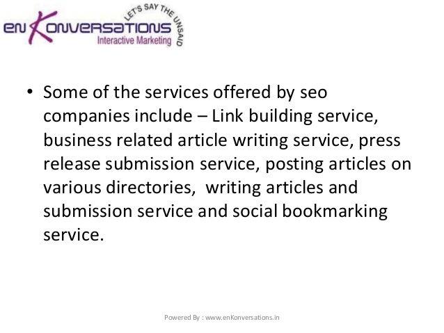 Seo writing service london