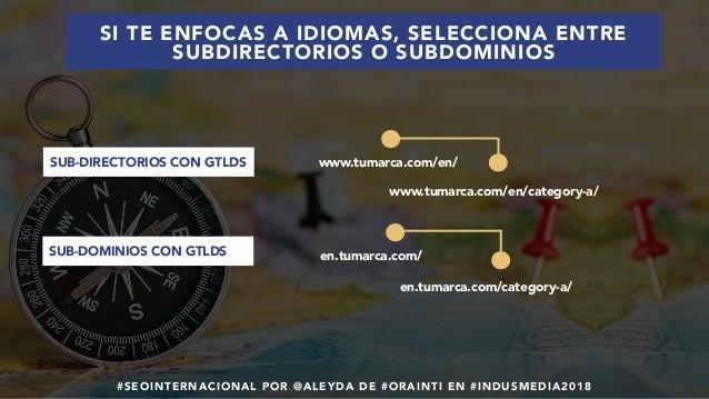 #SEOINTERNACIONAL POR @ALEYDA DE #ORAINTI EN #INDUSMEDIA2018 www.tumarca.com/en/ www.tumarca.com/en/category-a/ en.tumarca...