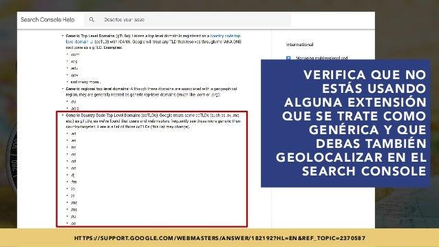 #SEOINTERNACIONAL POR @ALEYDA DE #ORAINTI EN #INDUSMEDIA2018 VERIFICA QUE NO ESTÁS USANDO ALGUNA EXTENSIÓN QUE SE TRATE CO...