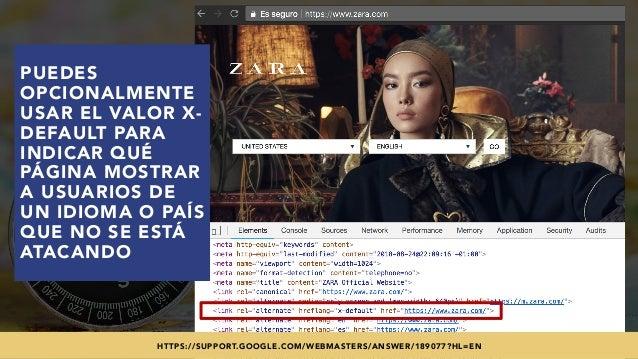 #SEOINTERNACIONAL POR @ALEYDA DE #ORAINTI EN #INDUSMEDIA2018 PUEDES OPCIONALMENTE USAR EL VALOR X- DEFAULT PARA INDICAR QU...