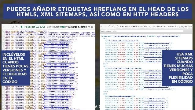 #SEOINTERNACIONAL POR @ALEYDA DE #ORAINTI EN #INDUSMEDIA2018 USA XML SITEMAPS CUANDO TIENES MUCHAS VERSIONES Y POCA FLEXIB...