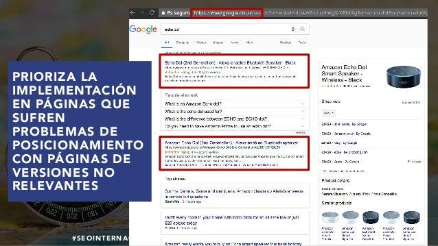 #SEOINTERNACIONAL POR @ALEYDA DE #ORAINTI EN #INDUSMEDIA2018 PRIORIZA LA IMPLEMENTACIÓN EN PÁGINAS QUE SUFREN PROBLEMAS DE...