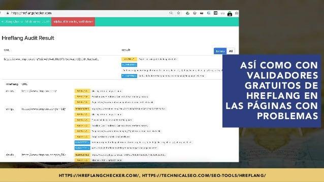 #SEOINTERNACIONAL POR @ALEYDA DE #ORAINTI EN #INDUSMEDIA2018HTTPS://HREFLANGCHECKER.COM/, HTTPS://TECHNICALSEO.COM/SEO-TOO...